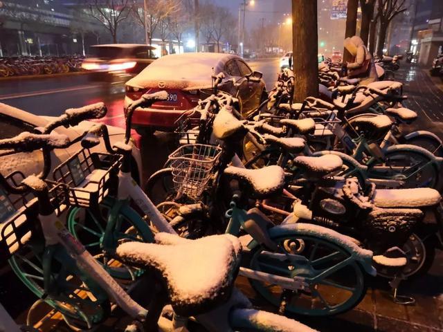 北京今冬第二雪,下出买家秀和卖家秀的区别